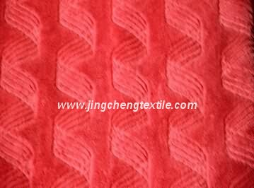 2015 PV fleece fabric with plain dyed and brushed ,high quality