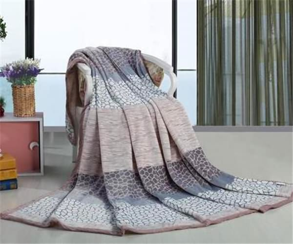 Water Cube printed design Flannel Fleece Blankets