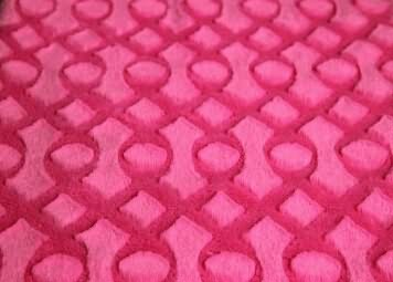 2015new PV fleece fabric with brushed design